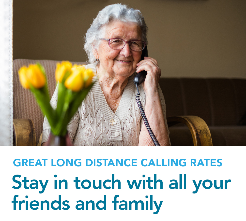 Stay in touch with all your friends and family with Tbaytels great long distance rates