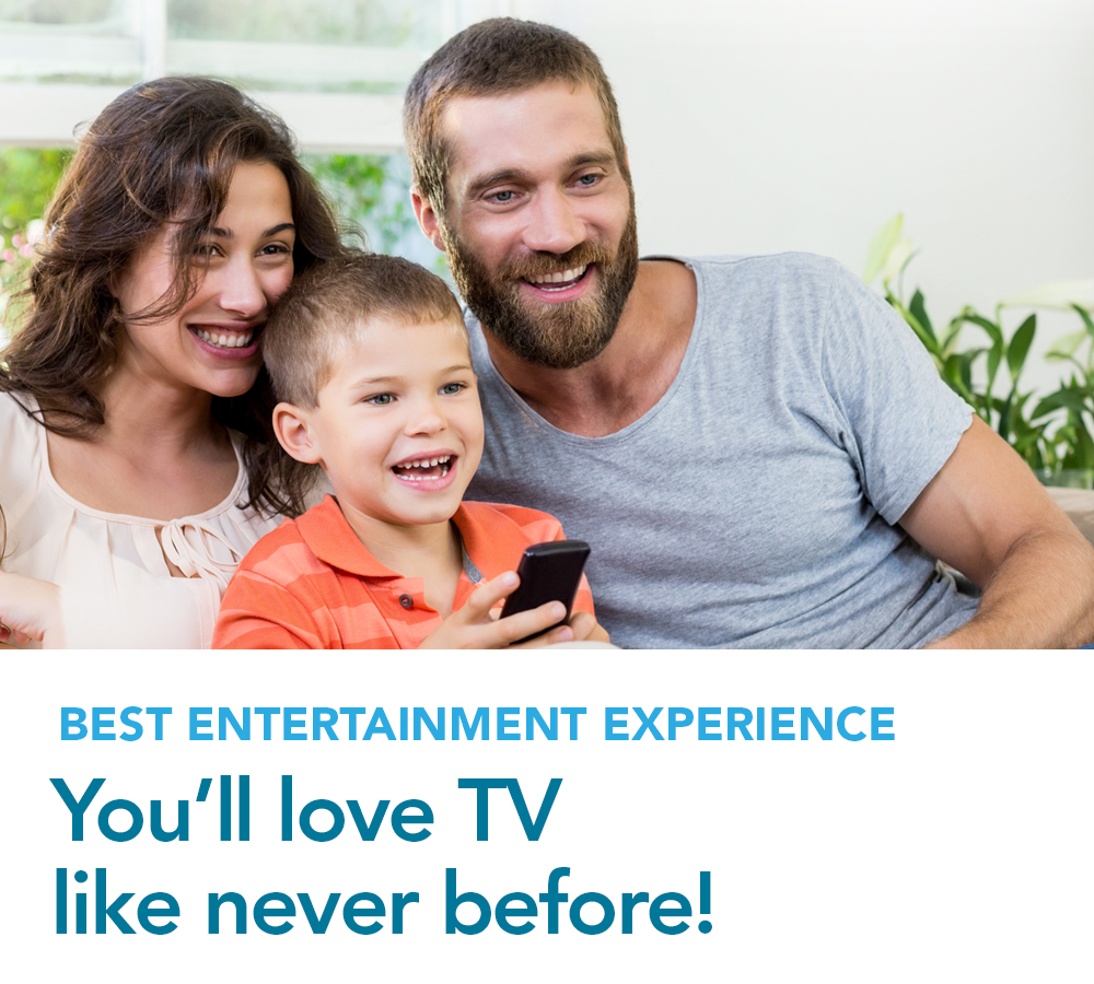 You will love TV like never before
