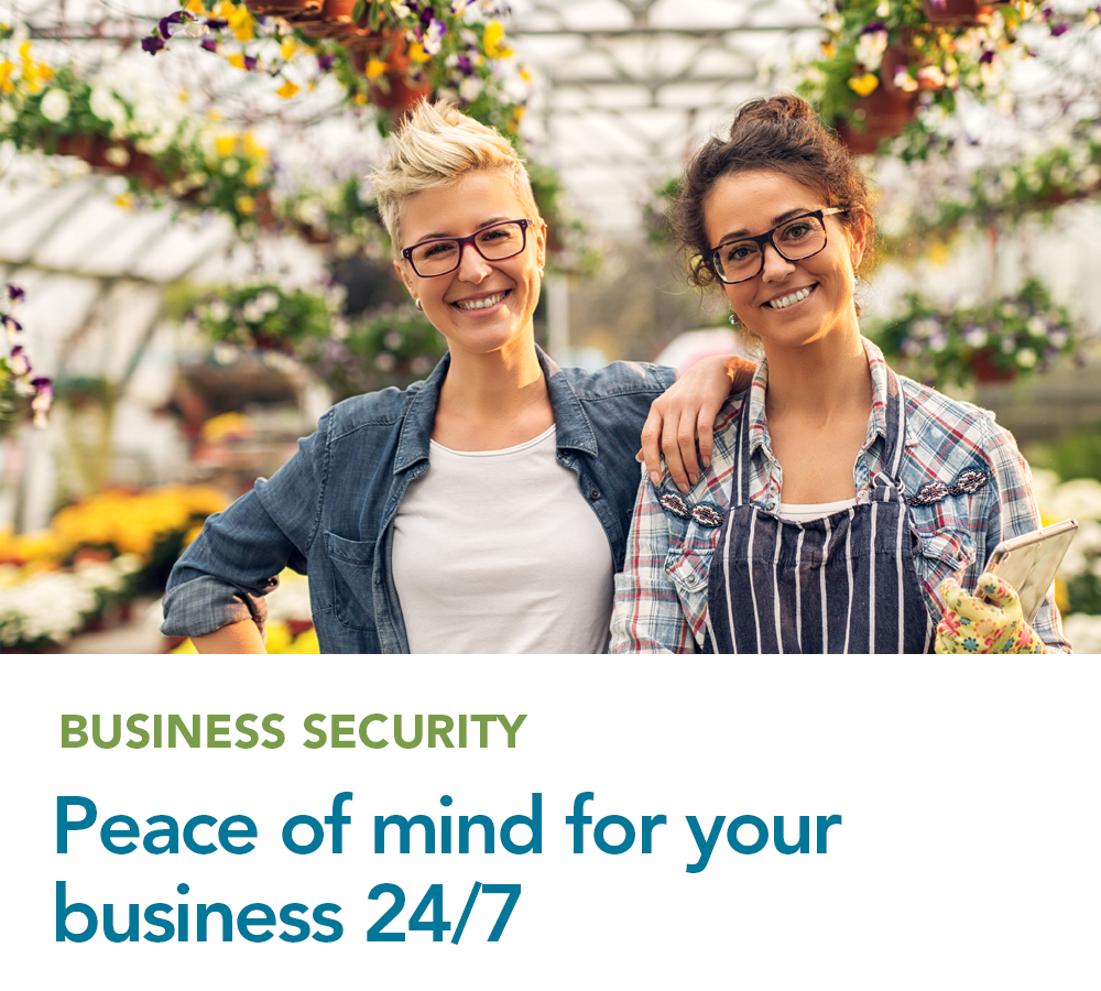 Peace of mind for your business