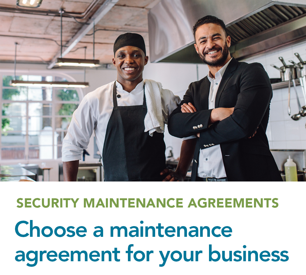 Choose a maintenance agreement that suites your business needs