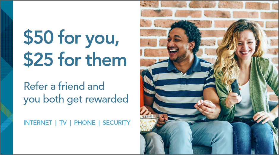 Refer a friend and you both get rewarded